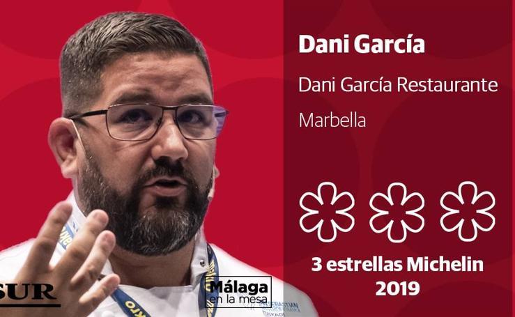 Conoce a todos los malagueños con estrella Michelin 2019