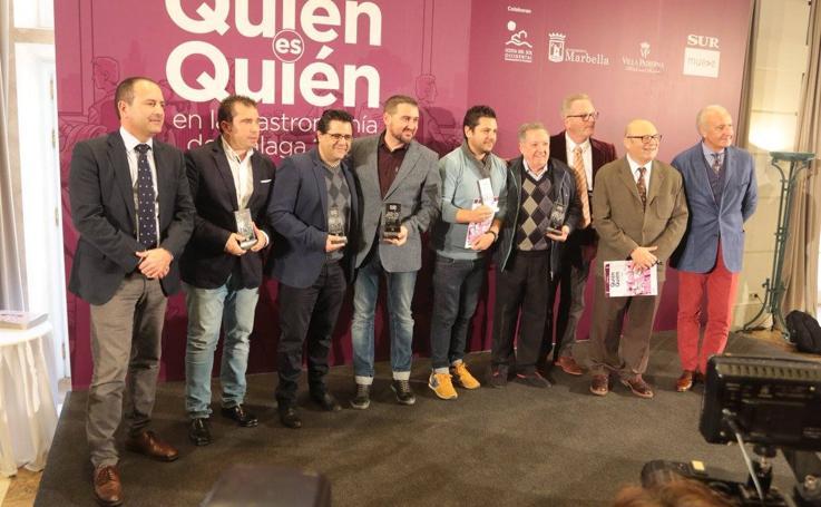 Presentación de la guía de SUR 'Quién es quién en la gastronomía de Málaga 2019'