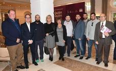 Cocineros, profesionales de sala, restaurantes y productores en la presentación de 'Quién es quién en la gastronomía de Málaga 2019'