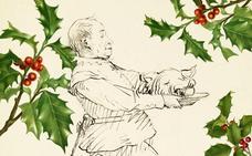 Banquetes navideños de antaño