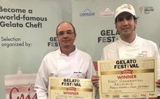 Una heladería de Torrox gana el I Gelato Festival Challenge organizado por Carpigiani y Grimasur, distribuidor de la firma en España