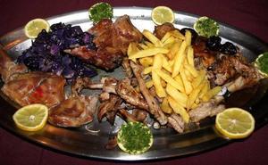 Dónde comer chivo lechal al horno en Málaga