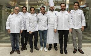 Estrellas Michelin juegan con la comida por la Fundación Aladina