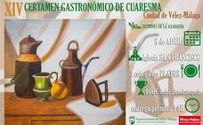 Vélez-Málaga acogerá el tradicional Certamen Gastronómico de Cuaresma desde el 5 de abril