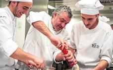 Dani Carnero reivindica el guiso en el Basque Culinary Center