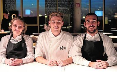 Estudiantes malagueños en el Basque Culinary Center: una generación seducida por el sabor de la memoria
