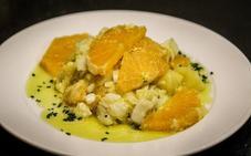 Sopas y ensaladas que se hacen con naranjas en Málaga