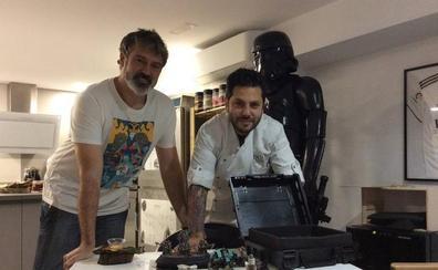 El estrella Michelin Diego Gallegos pinta mucho en el Warhammer