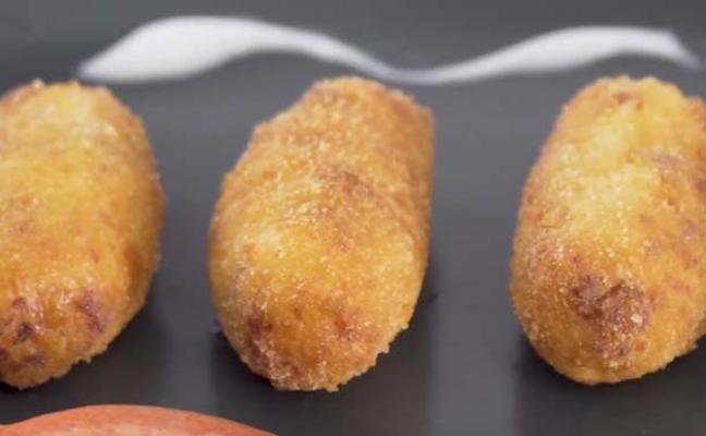 Croquetas de salchichón Prolongo, un éxito seguro