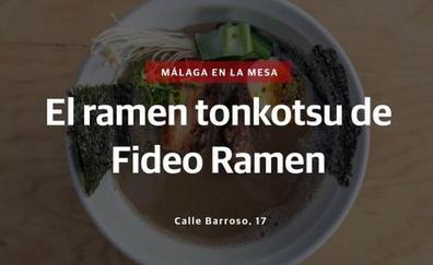 Videoreceta: El ramen tonkotsu de Fideo Ramen