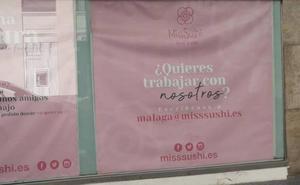 La cadena Miss Sushi busca personal para su primer restaurante en Málaga