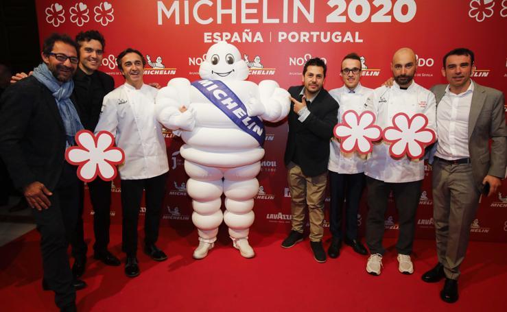 Así fue la gala de presentación de la Guía Michelin 2020