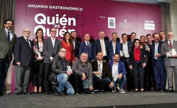 Así fue el acto de presentación de la guía 'Quién es quién en la gastronomía de Málaga 2020'