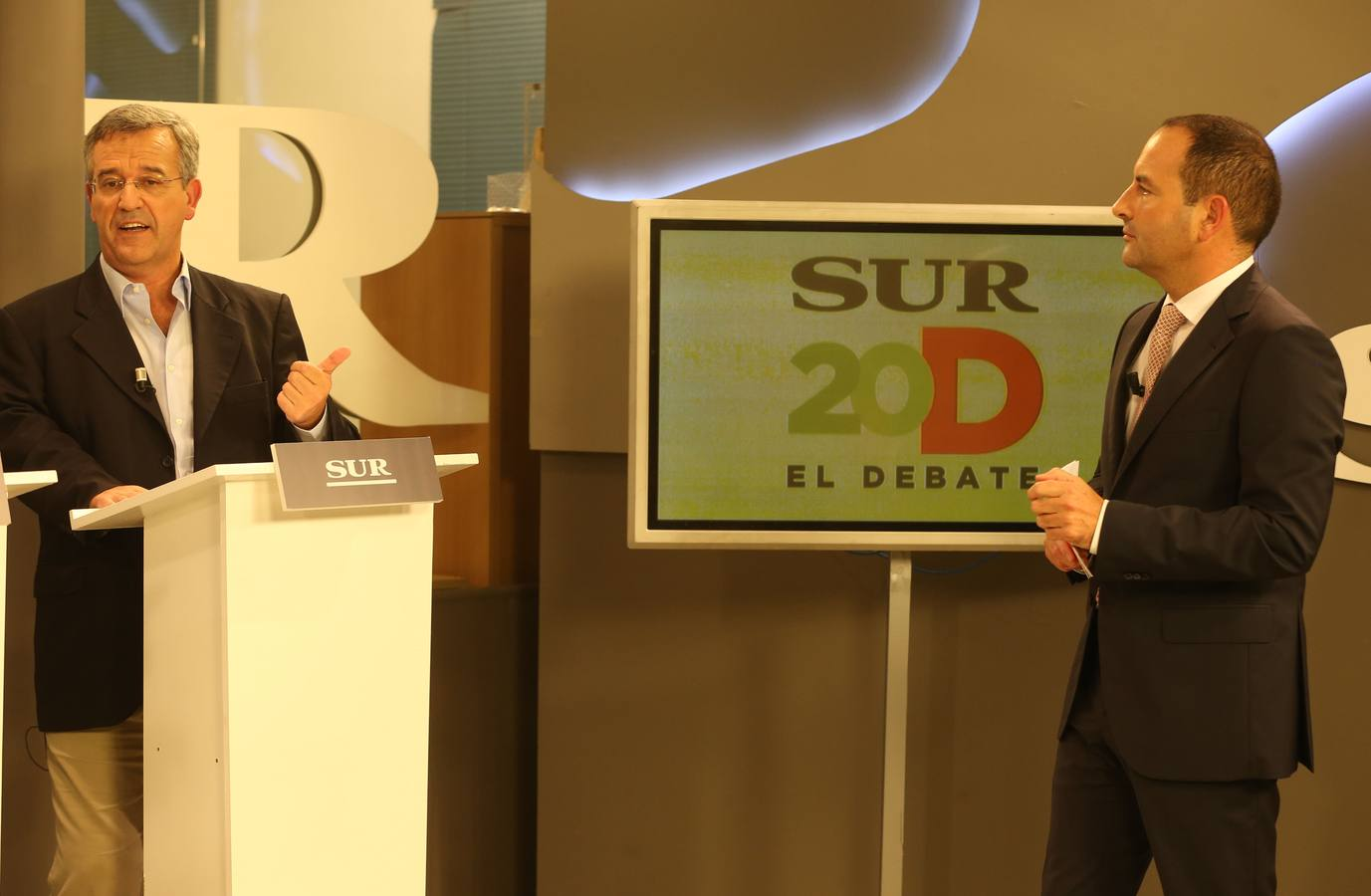 El debate a cinco en SUR, en fotos