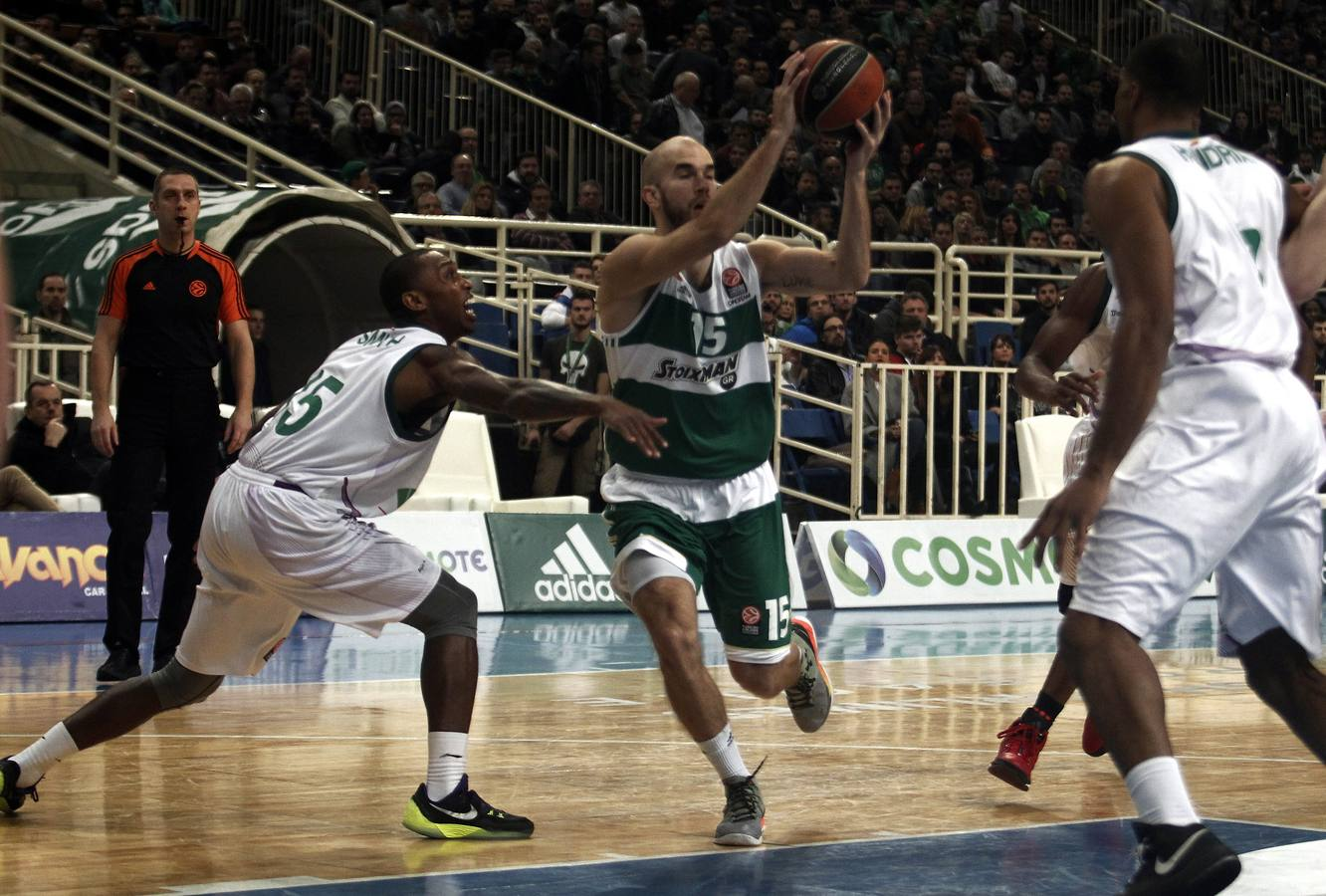 El Panathinaikos-Unicaja, en fotos