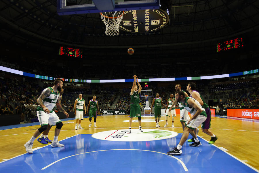 El Unicaja-Panathinaikos, en fotos