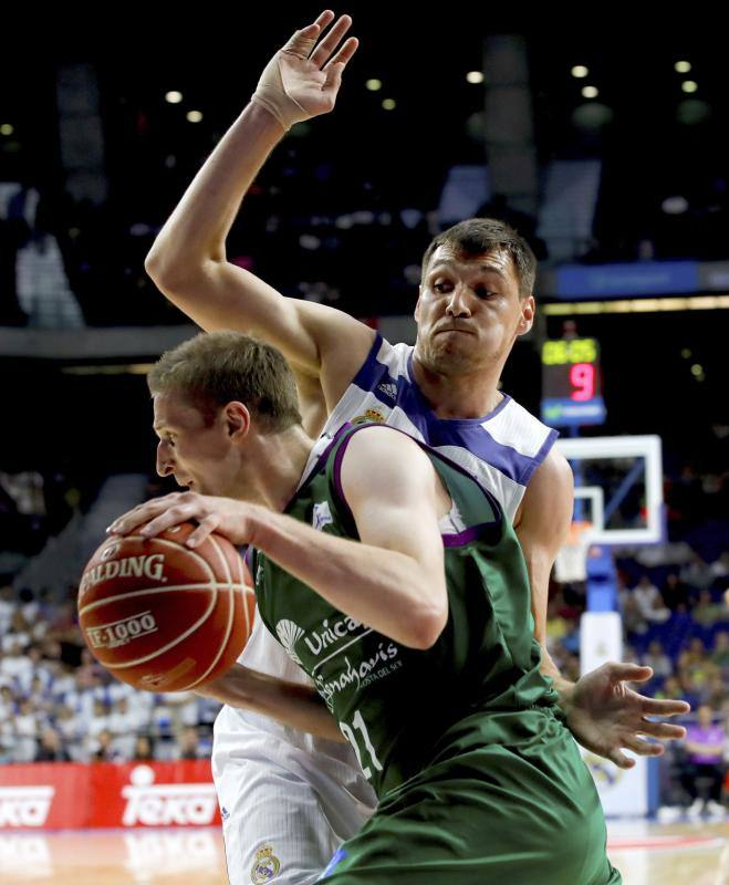 El Real Madrid-Unicaja, en fotos