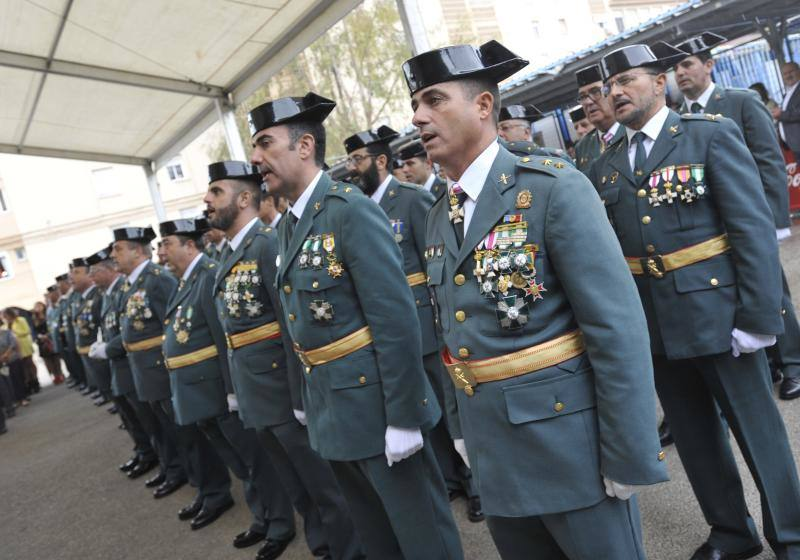 El homenaje de la Guardia Civil a su patrona, en fotos