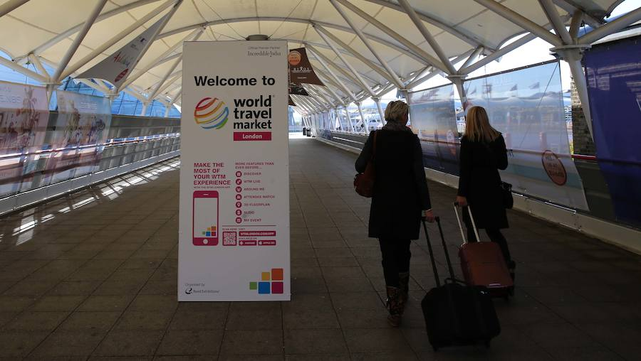 Todo preparado en Londres para la World Travel Market