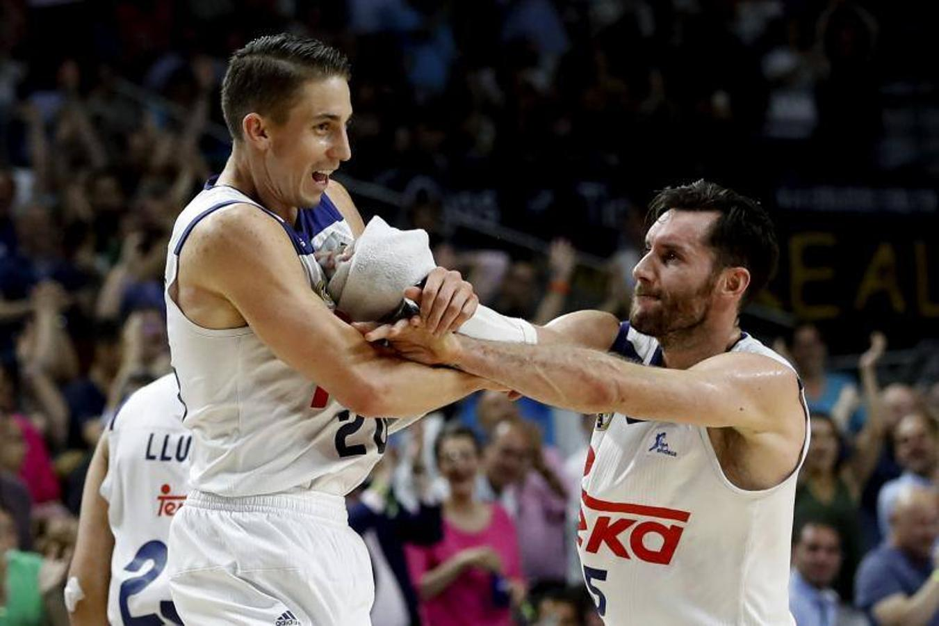 El segundo duelo Real Madrid-Unicaja, en fotos