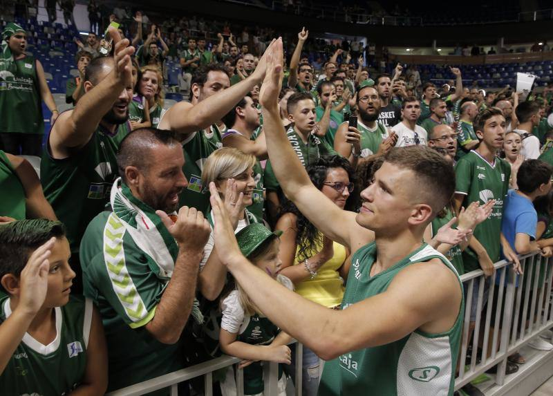 El Unicaja-Real Madrid, en fotos
