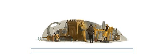 Google y Howard Carter viajan al antiguo Egipto