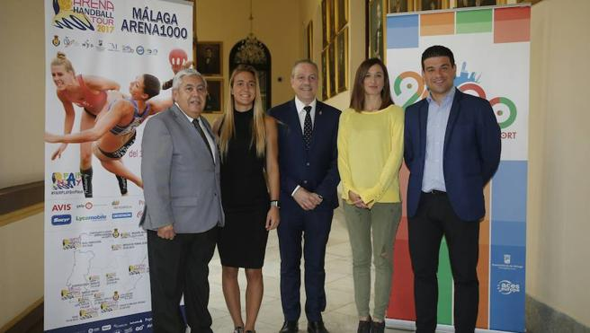 Málaga, capital del balonmano playa europeo