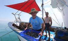 Fishermen celebrate the return of clam fishing