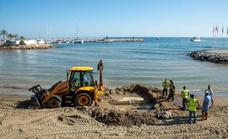 Wastewater pipe break forces the closure of a Marbella beach