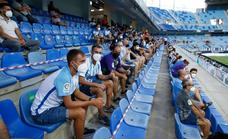 Malaga drop the Covid jab certificate requirement for fans to watch their league season debut