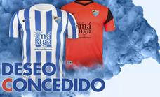 Fans queue up for new season Malaga football shirts - but what colour is the away kit?