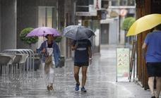 Yellow weather warnings for heavy rain and storms in Andalucía