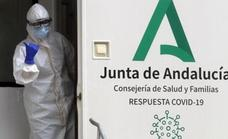 The number of coronavirus patients in Andalusian hospitals falls