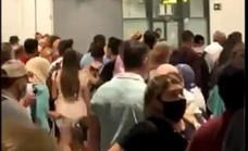 Video | Staff shortage causes Covid health control chaos at Malaga airport