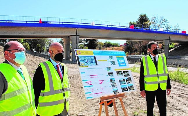 Cancelada traffic link in Estepona is fully reopen