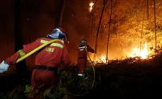 Spain's emergency military unit on stand-by for the Sierra Bermeja wildfire