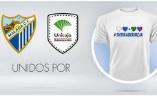 Malaga's top football and basketball teams unite to help the Sierra Bermeja