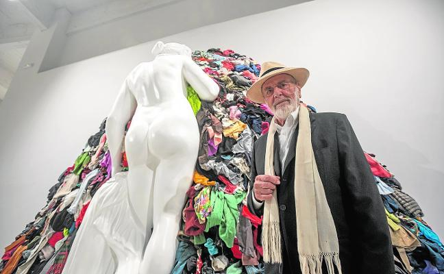 Michelangelo Pistoletto discovers the formula of creation at the CAC