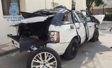Driver arrested in Estepona after losing control of a stolen car