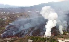 Toxic gas fears grow as the La Palma lava flow approaches the sea