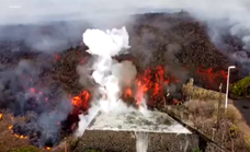 Unstoppable lava flow reaches 12 metres high and destroys at least 200 homes