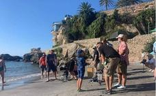 Filming for new British TV series takes place in Nerja