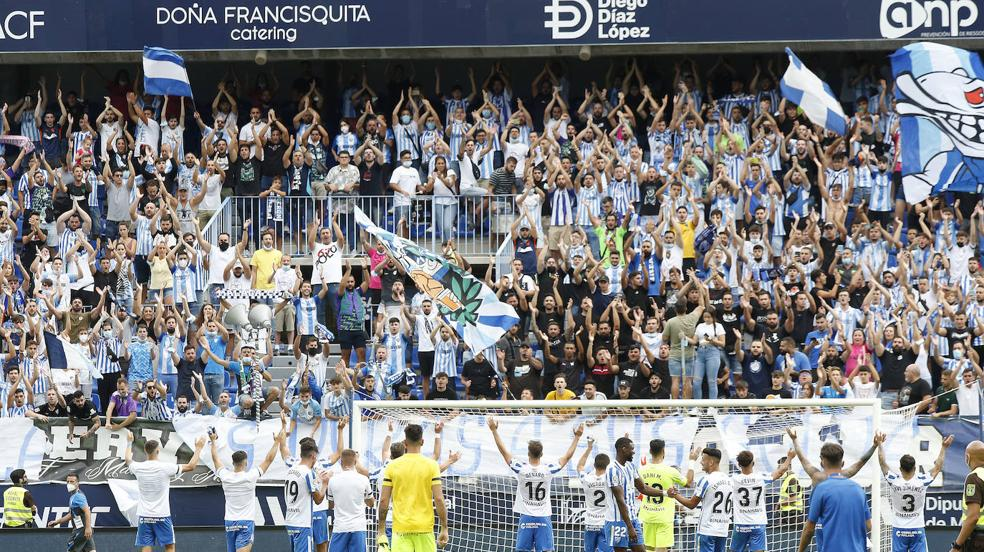 Malaga - Fuenlabrada in pictures
