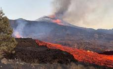 Lava flow increases from the La Palma volcano as experts detect an increase in explosive activity