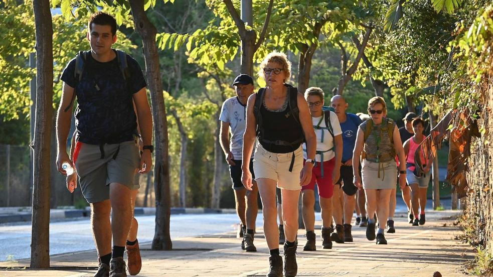 Tenth '4 Days Walking' event in Marbella