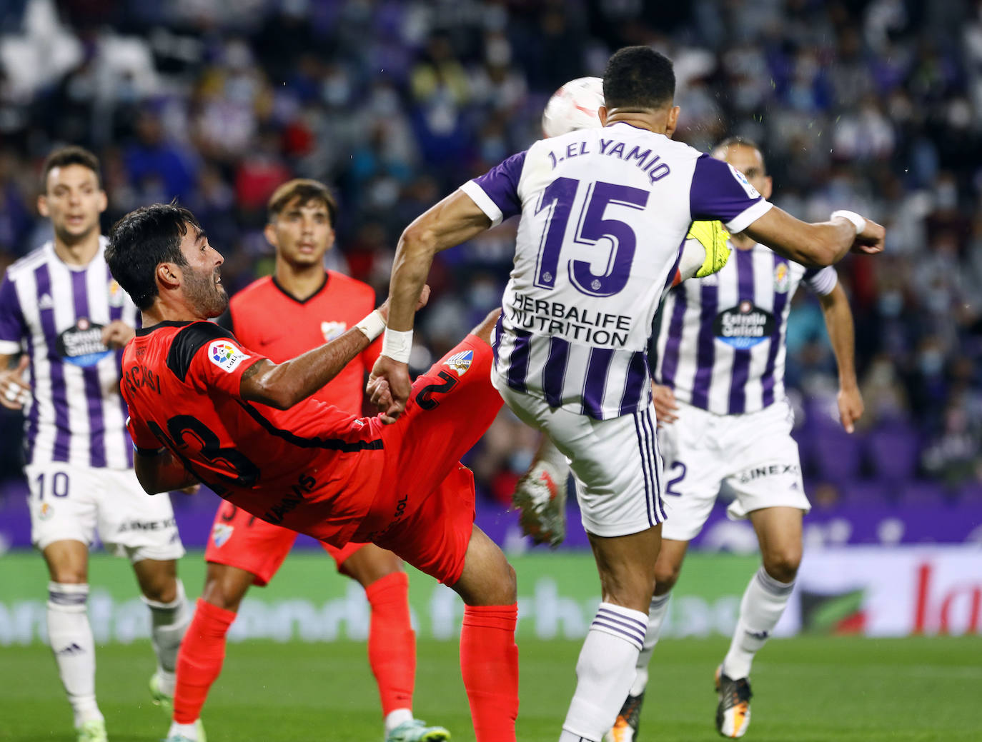 Valuable draw for Malaga in Valladolid (1-1)