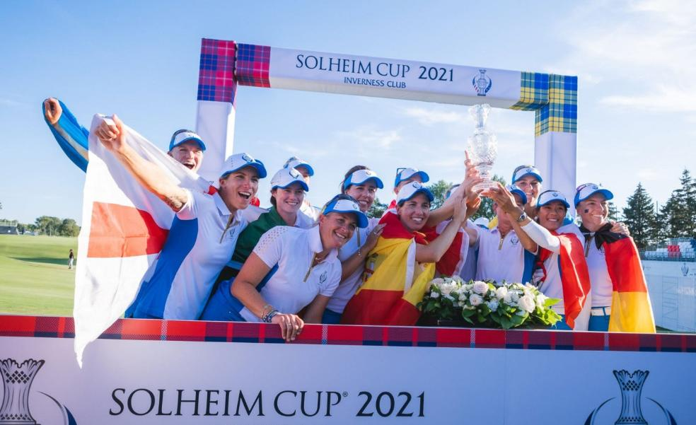 Andalucía looks forward to hosting the next Solheim Cup in two years