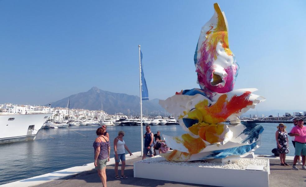 Contemporary art flourishes in Puerto Banús