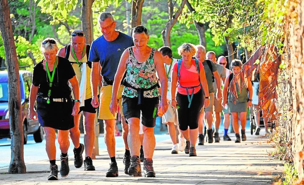 Hundreds fly in to take part in the four days walking festival in Marbella