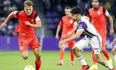 Malaga improve their away performance with Friday's draw against Valladolid (1-1)